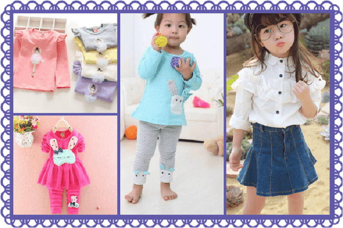 Designer Tops and Tees for Baby Girl