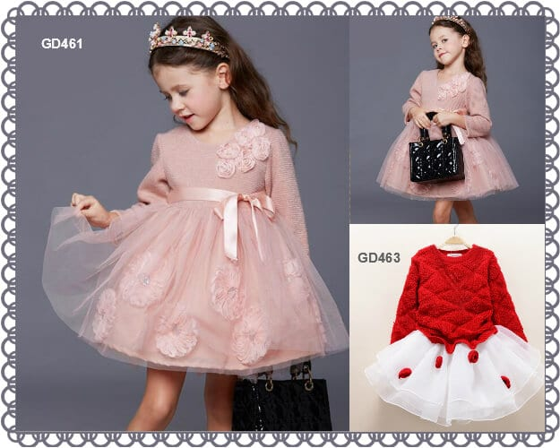 baby Winter Wear Dresses