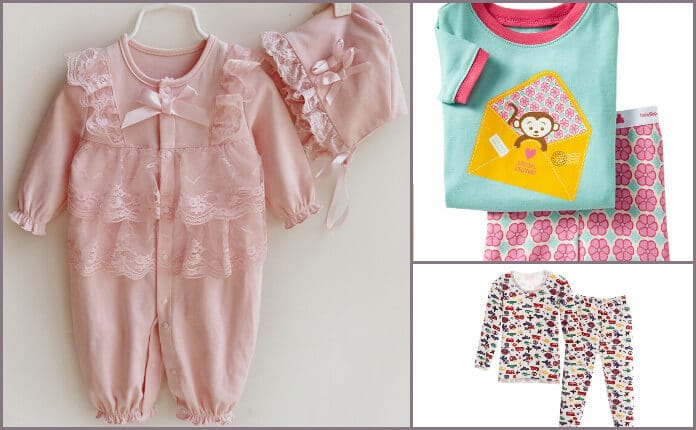 Baby Thermal Onesies and Romper Suits