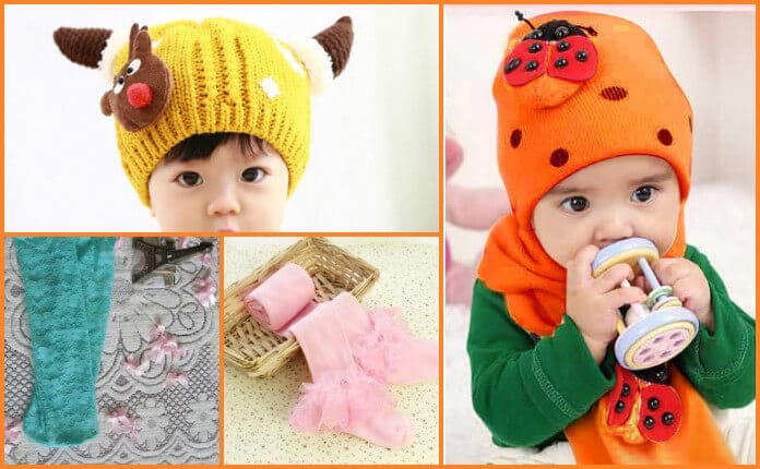 Baby Winter Caps and Accessories India