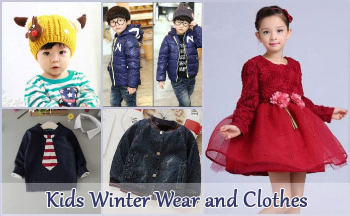Kids Winter Wear and Clothes