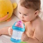 Water in Baby Sipper