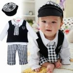 Boys 5 Piece Occasion Wear Suits For Kids
