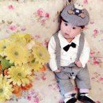 Baby Boy Formal Suit Romper
