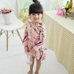 Baby Girl Special Occasions Frocks Floral Print