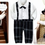 Baby Boys Blue and White Jumpsuit Romper