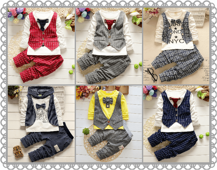 Boys Suits and Partywear Collection - Kids Formal Wear