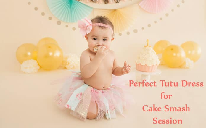 Cake smash session tutu dress - 1st Birthday tutu Outfits