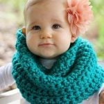 Child Circle Cowl Scarf Crochet Pattern