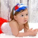 Toddler and Baby Girl Feather Headbands