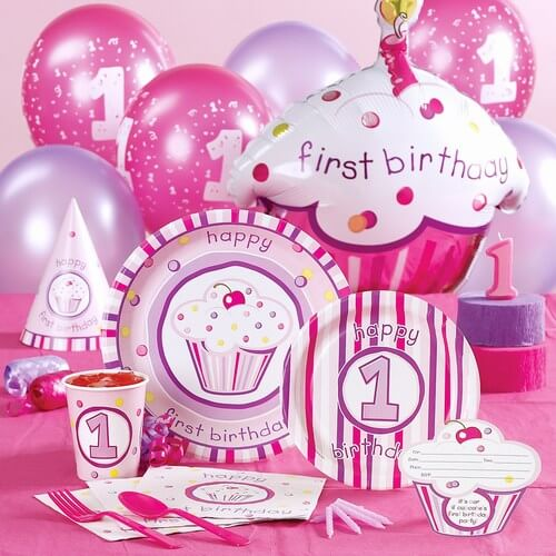 Kids First Birthday Party Theme