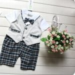 Little Boys Romper Dress