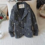Toddler Boys Winter Warm Grey Coat