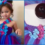 One Shoulder Flower Girl Tutu Dress Style