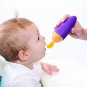 Baby Food Dispensing Spoon