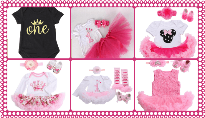first birthday One Piece Romper Dresses and Outfit India