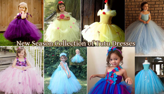 Kids and Babies Flower Girl Party Tutu Dress