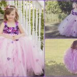 Children's Flower Girl Birthday Tutu Outfit