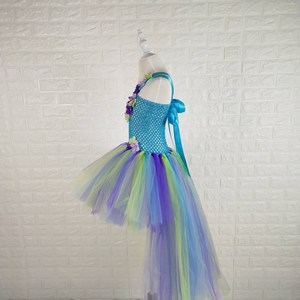Rainbow Unicorn Tutu Birthday Outfits for Baby Girls in India