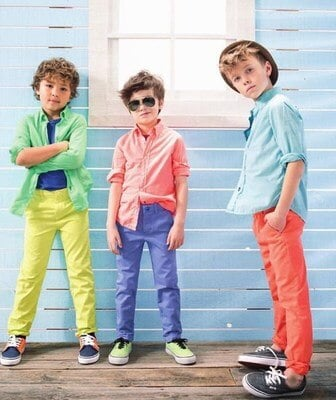 bright and bold boys shirts