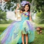Beautiful Baby Girl Unicorn Theme Birthday Tutu Dress