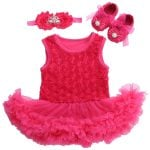 Infant Baby Girls Onesie and Romper Set Outfit Clothes