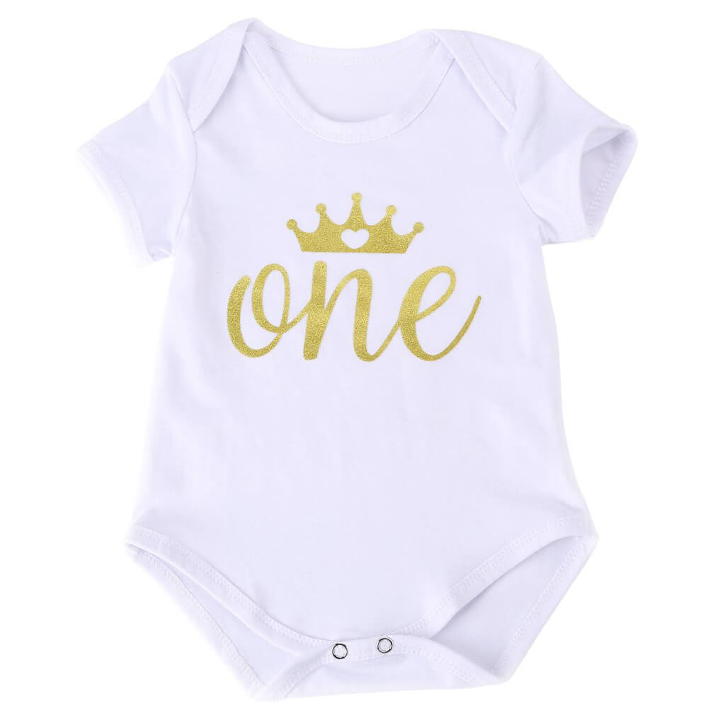 Trendy One Piece Romper Dresses That Make 1st Birthdays