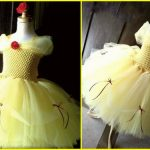 Inspired Princess Belle Tutu Dress