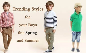 3 Styles to Spruce Up Your Boys Closet for Spring Season