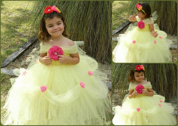 Fabulous Flower Girl Tutu Dresses For A Flawless Party Look In Summers