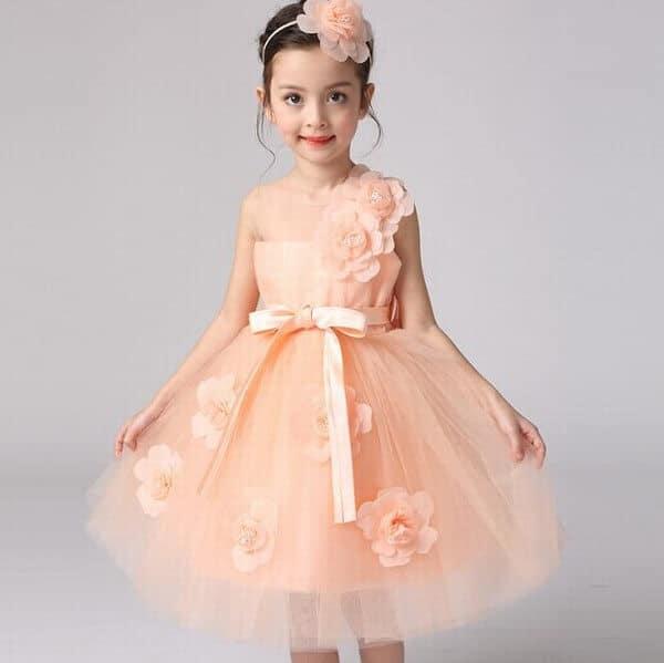 Summer Weddings and Partywear Baby Girl Flower Dress