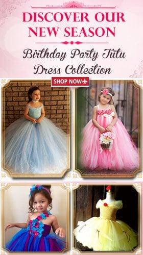 Baby girl birthday tutu dresses