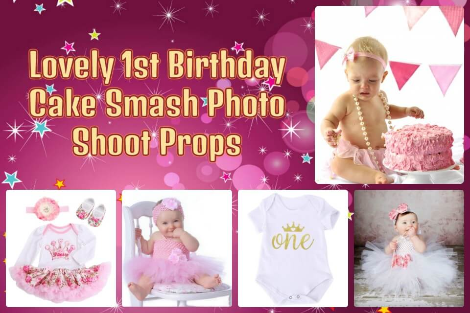1st Birthday Cake Smash Photo Shoot Props