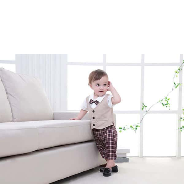 Baby Boy one pcs Birthday Formal Romper Outfit Clothing Set