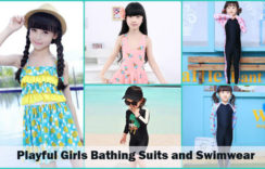 Playful Girls Bathing Suits and Swimwear to Spruce Up Her Summers
