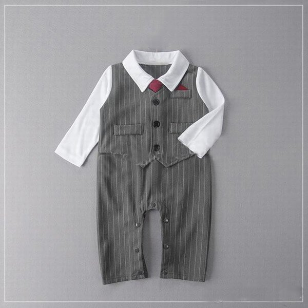 Baby Boy Wedding Party Tuxedo Suit