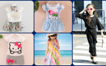 Top Summer Dresses & Holiday Outfits 2017 for Girls From 0 Months to 10 Years