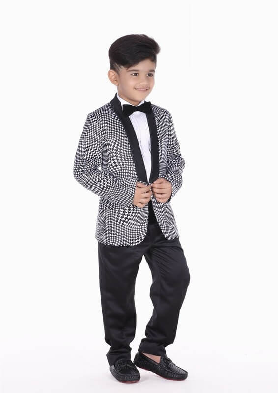 Baby Boy Formal Party Wedding Tuxedo Suit