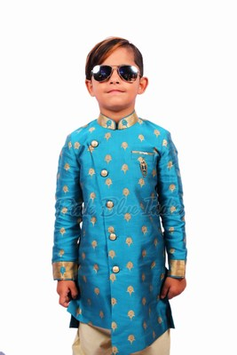 Party Wear Outfit - Bandhgala Boys Ethnic Wear