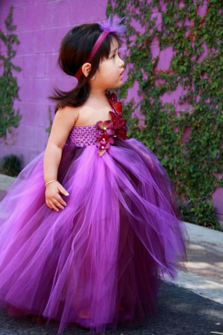 Beautiful Full Long Dress For The Cutest Baby Girl Full