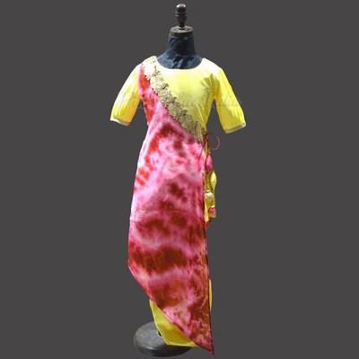 Indian Style Bollywood Shibori Dress Set