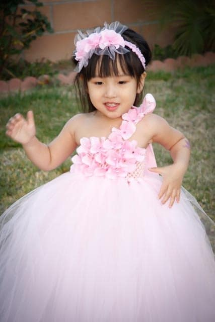 2921e59b87e8a Beautiful Full Long Dress for the Cutest Baby Girl | Full Length ...