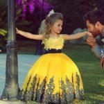 Little Princess Evening Wedding Gown Summer Dress