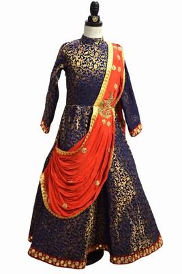 Indo Western Wedding Dress for Girls - Wedding Gown