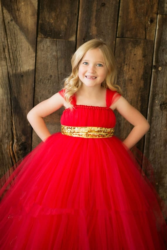 Beautiful Full Long Dress For The Cutest Baby Girl Full