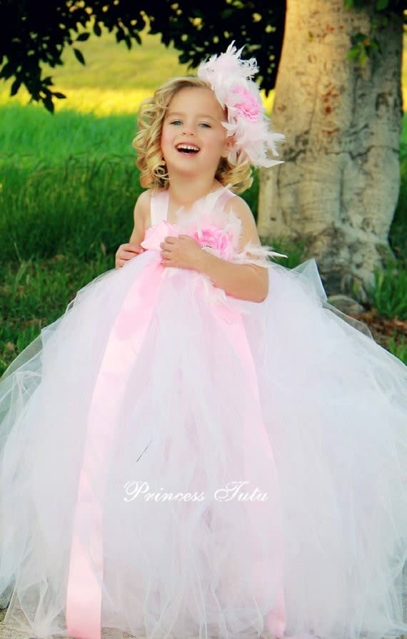 2356c35bb Beautiful Full Long Dress for the Cutest Baby Girl