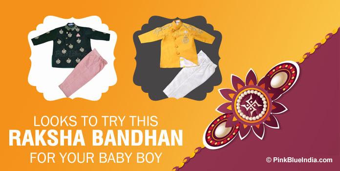 Looks for Baby Boys To Rock This Raksha Bandhan