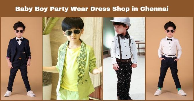 Baby Boy Party Wear Dress Shop in chennai