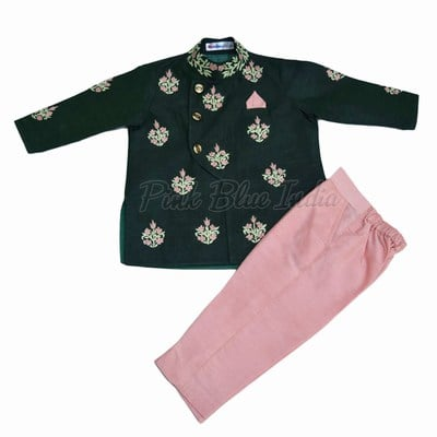 Little Boys Bandhgala Jodhpuri Suit