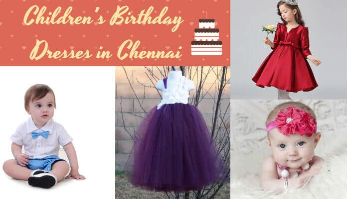Chennai Children's Birthday Clothes, Couture Birthday Dresses